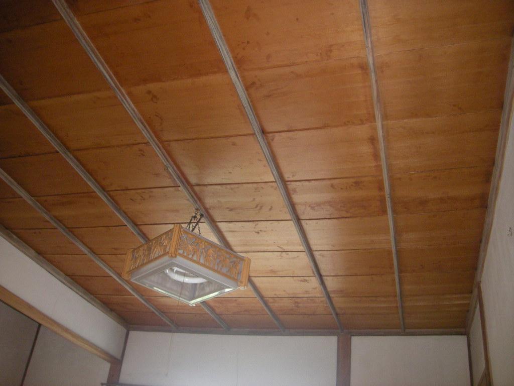 和室の天井改修工事